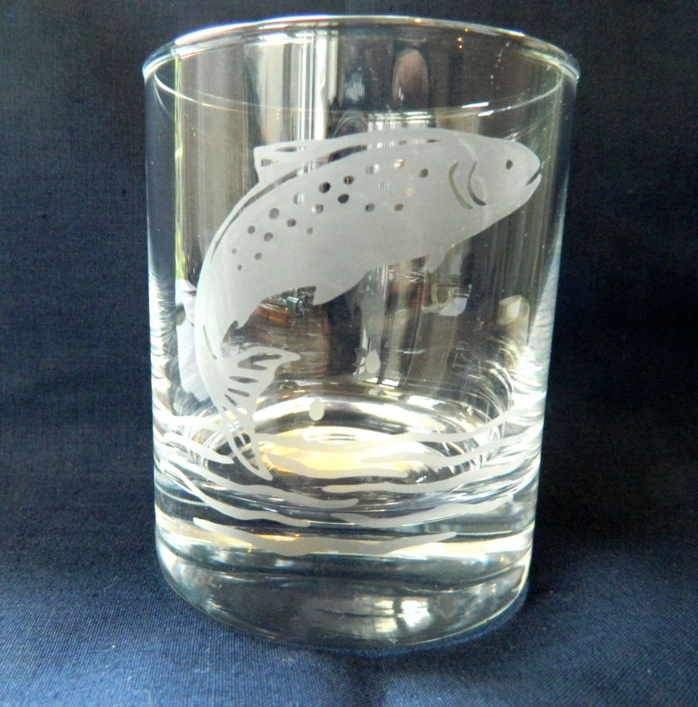 New Product Fishing whisky Glass