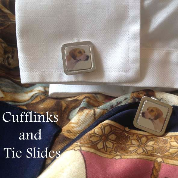 Cufflinks and Tie Slides