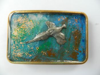 New Product Belt buckle - pheasant