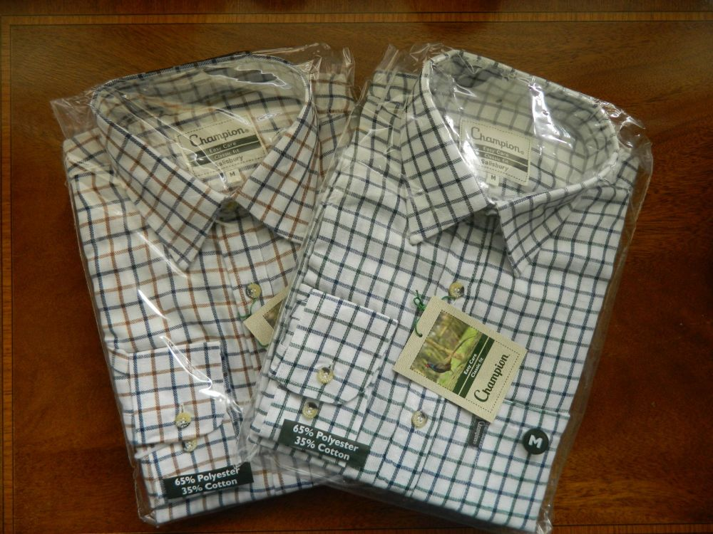 Twin pack, champion check shirt