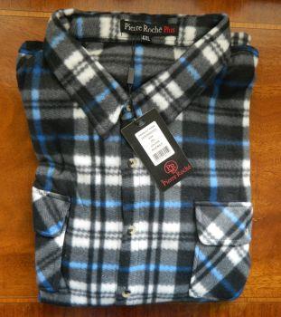 Magneto / Pierre Roche fleece shirts Navy/Green