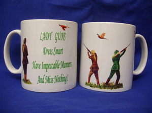 Lady Guns, Shooting Mug