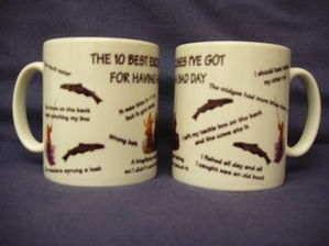 The Ten Best Excuses , Fishing mug, gift
