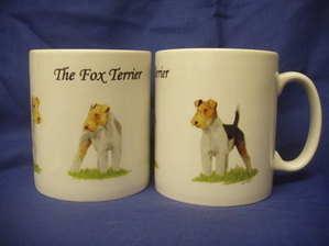 The Fox Terrier, mug