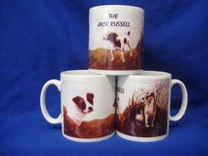 The Jack Russell, mug