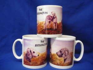 The Bedlington Terrier, mug