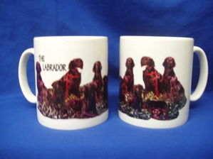 The Labrador, mug
