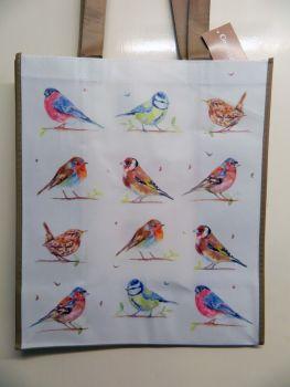 Reusable shopping bag -  Garden birds