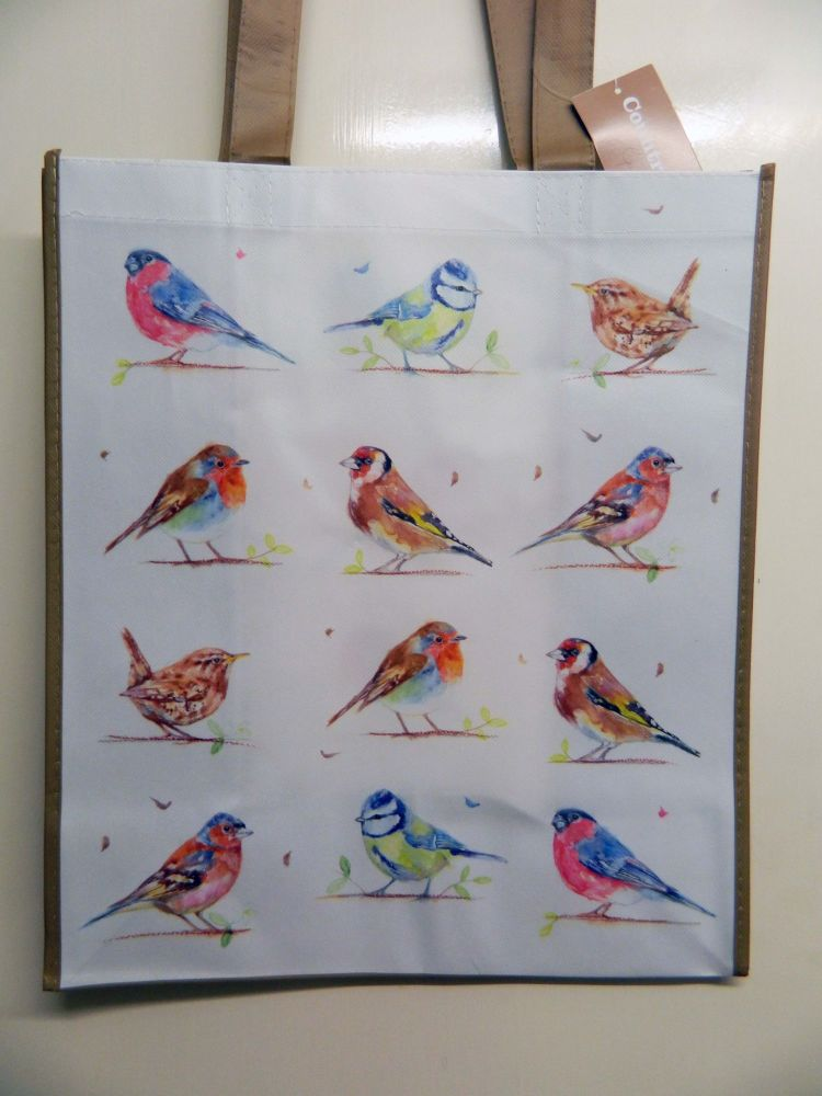 Reusable shopping bag -  Garden birds