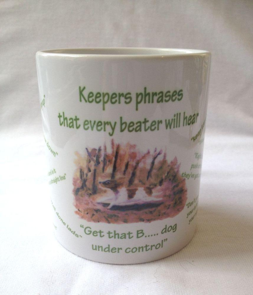 Keepers phrases mug