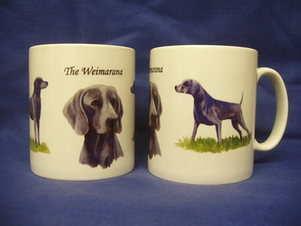 The Weimarana, mug