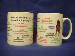Horse Racing Jargon, mug