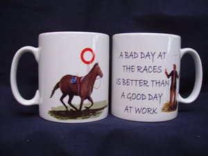 A Bad Day at the Races, mug, gift