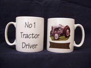 No 1 Tractor Driver, Mug