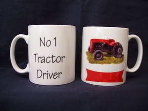 No. 1 Tractor Driver, mug