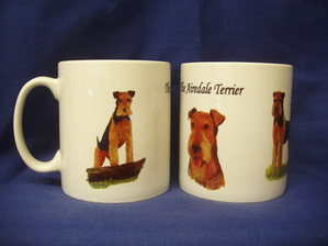 Airedale Terrier, mug