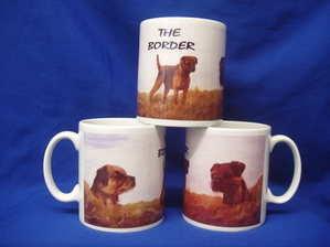 Border Terrier ----mug