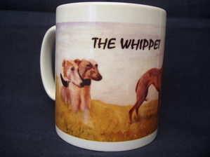 The Whippet, mug
