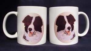 Collie, sheepdag, mug
