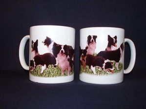 Working Collie, mug