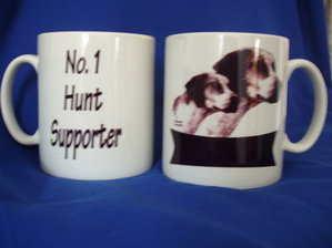 No 1 Hunt Supporter -- mug