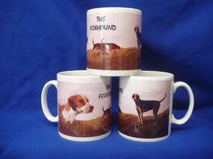 The Foxhound -- mug