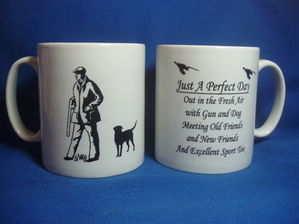 Just a Perfect Day --- shooting mug