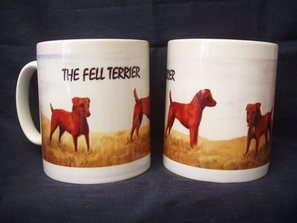 Red Fell Terrier  mug