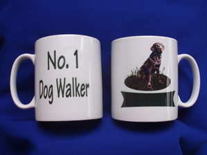 No1 Dog Walker --- mug