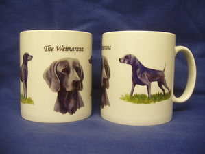 The Weimarana -- Mug