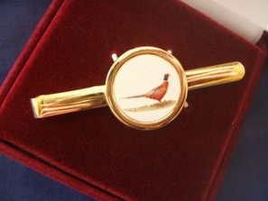 Pheasant ---- Tie pin
