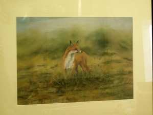 Early morning fox -- Original Painting