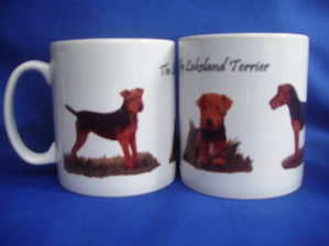 The lakeland terrier -- mug
