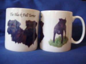 Black Fell Terrier, mug