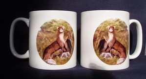 Ferret (polecat) mug