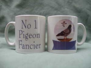 No1 Pigeon fancier, mug