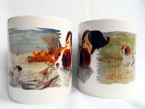 Springer spaniel mug, new design