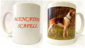 single hound mug