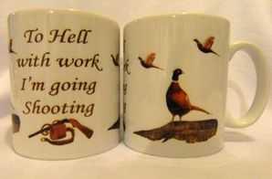 To Hell with work... shooting mug gift