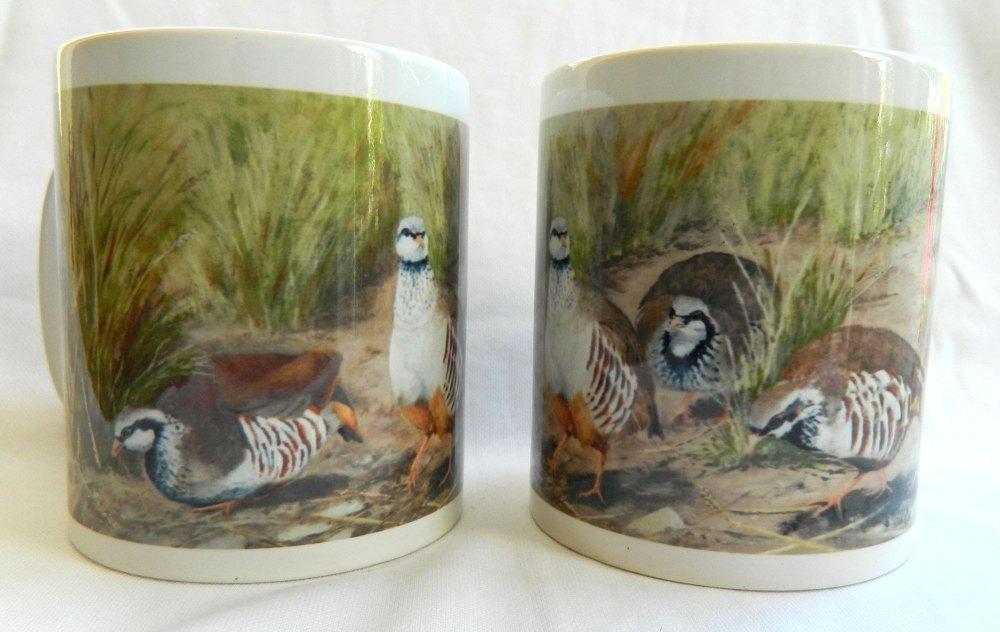 Redleg Partridge Mug
