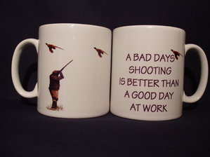A Bad Days Shooting, mug