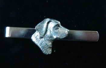 Labrador pewter tie slide