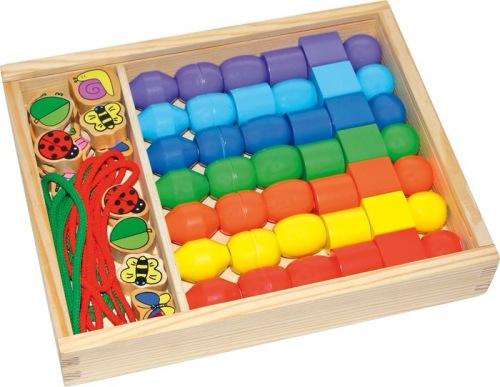Jumbo threading box