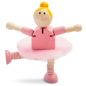Wooden Flexi Ballerina - Figure