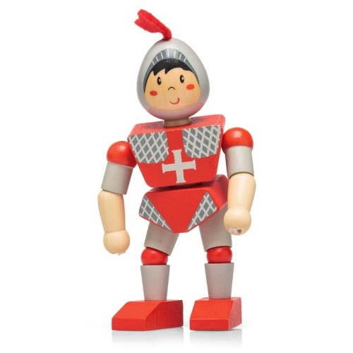 Wooden Flexi Knight - Action Figure