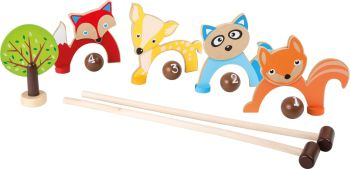 Woodland Animals Croquet set