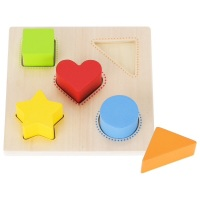 Puzzle - Colour and Shape Sorting Board