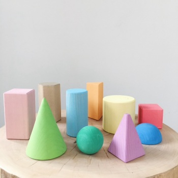 Geometric Shapes - coloured - 15 % OFF CHRISTMAS CLUB ONLY