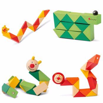 Wooden Flexi Animals