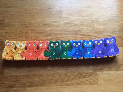 Number Row Owl